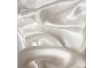 Belledorm 100% Mulberry Silk Extra Deep Fitted Sheet (Ivory) (Single)