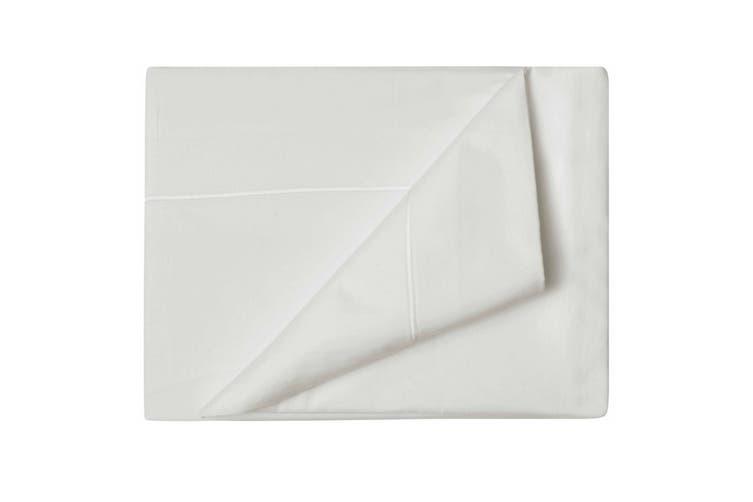 Belledorm Premium Blend 500 Thread Count Flat Sheet (Ivory) (Single)