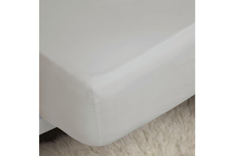 Belladorm Pima Cotton 450 Thread Count Extra Deep Fitted Sheet (Platinum) (Kingsize)