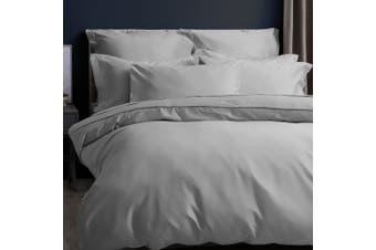 Belledorm Pima Cotton 450 Thread Count Duvet Cover (Platinum) (Kingsize)