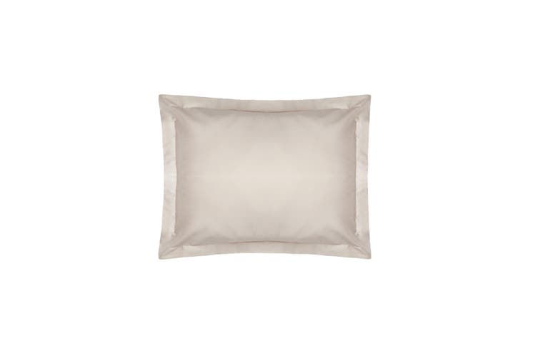 Belledorm Pima Cotton 450 Thread Count Oxford Pillowcase (Oyster) (One Size)