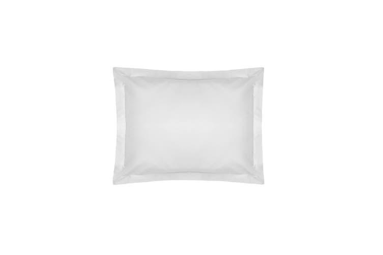 Belledorm Pima Cotton 450 Thread Count Oxford Pillowcase (White) (One Size)