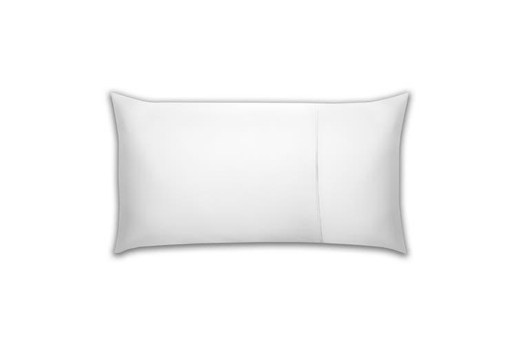Belledorm Pima Cotton 450 Thread Count Bolster Pillowcase (White) (One Size)