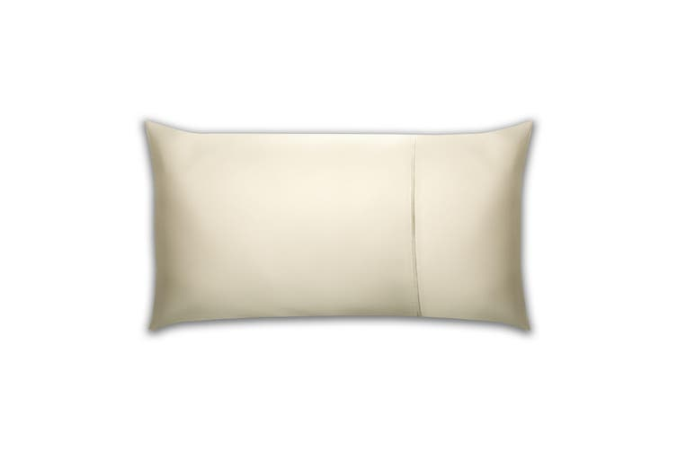 Belledorm Pima Cotton 450 Thread Count Bolster Pillowcase (Ivory) (One Size)