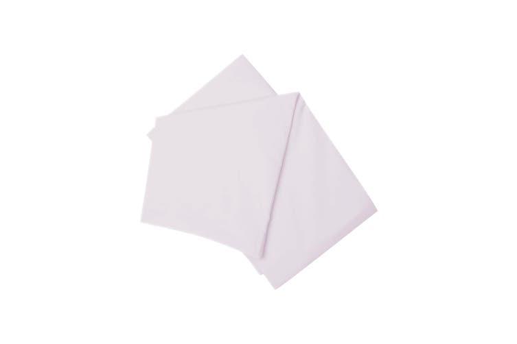 Belledorm Brushed Cotton Fitted Sheet (Heather) (Kingsize)