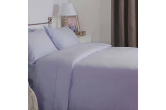 Belledorm Brushed Cotton Duvet Cover (Heather) (Kingsize)