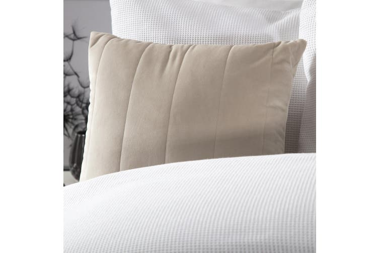 Belledorm Verona Filled Cushion (Linen) (One Size)