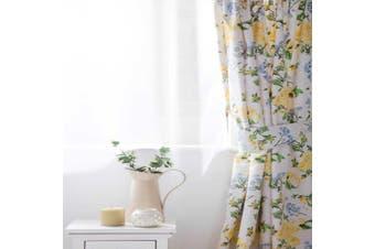 Belledorm Arabella Country Dream Curtains (White/Blue/Lemon/Green) - UTBM338