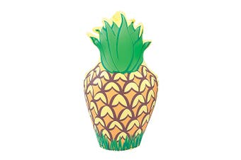 Bristol Novelty Inflatable Pineapple (Yellow/Green) (35cm)