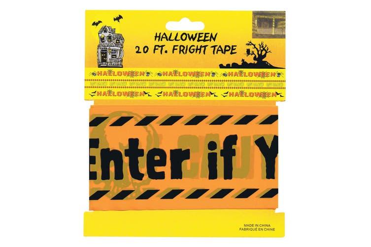 Bristol Novelty Warning Tape (Orange) (One Size)