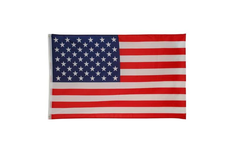 Bristol Novelty Stars and Stripes USA Flag (Red/White/Blue) (One Size)