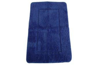 Mayfair Cashmere Touch Ultimate Microfibre Bath Mat (Royal) (50x80cm)