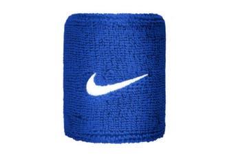 Nike Unisex Adults Swoosh Wristband (Set Of 2) (Royal Blue) (One Size)