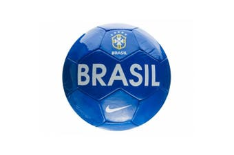 Nike Brasil Ball (Blue) (Size 5 UK)