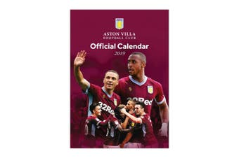 Aston Villa FC A3 2019 Calendar (Purple) (One Size)