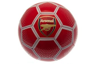 Arsenal FC Diamond Football (Red) (Size 5)