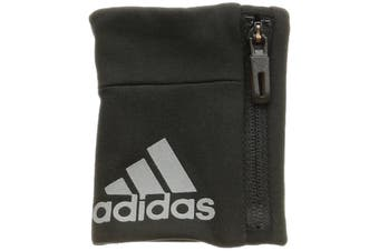 Adidas Unisex Climate Control Wristband (Black/Silver Metallic) (One Size)