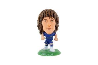 Chelsea FC David Luiz Home Kit 2018 To 2019 Soccerstarz (Blues) (One Size)