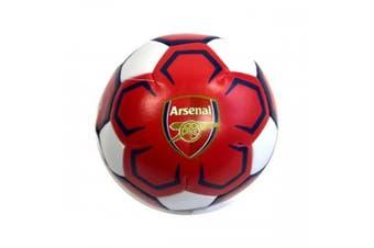 Arsenal FC Mini Soft Ball (Red/White) (mini)