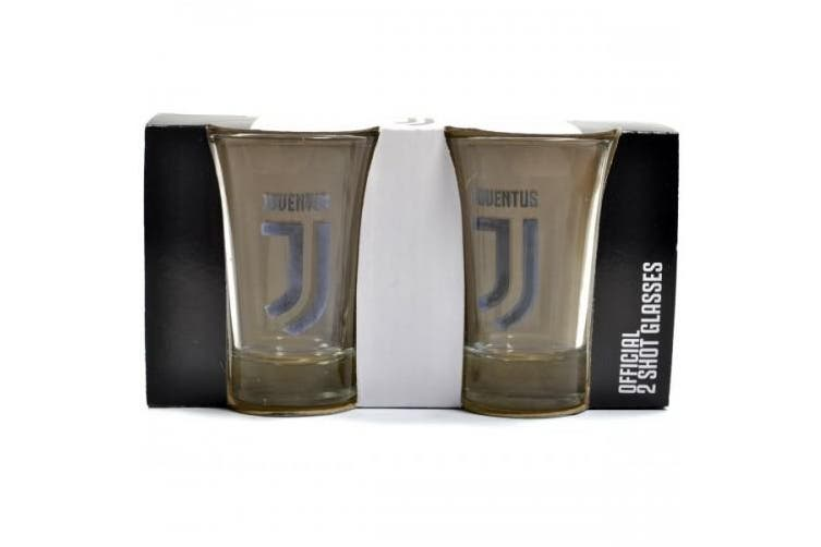 Juventus FC Shot Glasses (Black) (One Size)