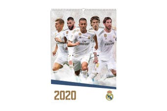 Real Madrid A3 2020 Calendar (White) (One Size)