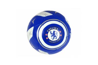Chelsea FC Official Mini 4 Inch Soft Football (Blue/White) (Mini)
