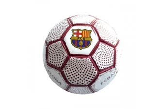 FC Barcelona Official Signature Kick And Trick Football (Blue/Burgundy) (One Size)