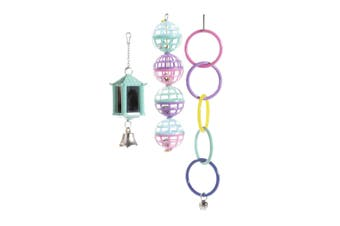 Sharples Ruff N Tumble Mix N Match Bird Cage Accessories (Multicoloured) (One Size)