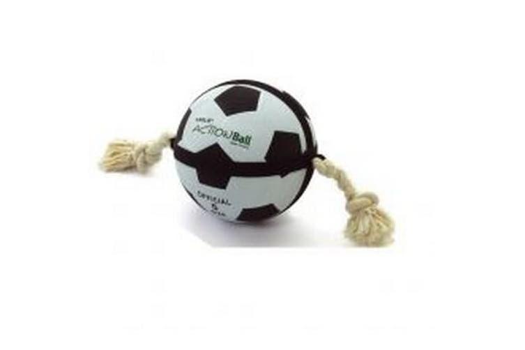 Sharples Actionball Football Toy (Black/White) (22cm)