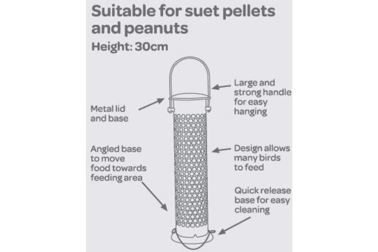 Peckish Suet & Peanut Feeder (May Vary) (One Size)