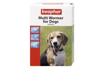 Beaphar Multi Wormer For Dogs (12 Tablets) (May Vary) (One Size)