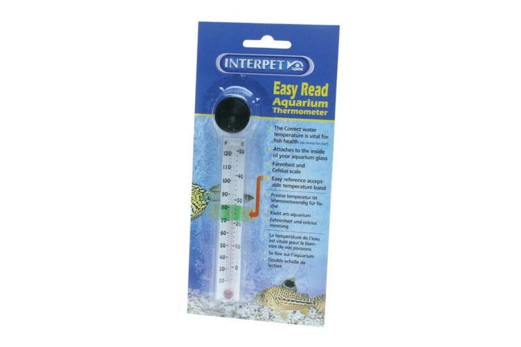 Interpet Easy Read Aquarium Thermometer (May Vary) (One Size)