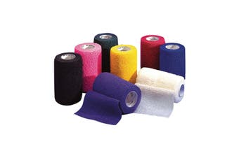 3M Vetrap Equine Cohesive Bandage Tape (Purple) (10cm)