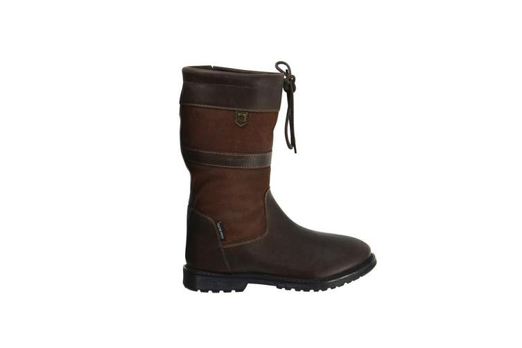 HyLAND Adults Buxton Short Country Boots (Dark Brown) (6 UK)
