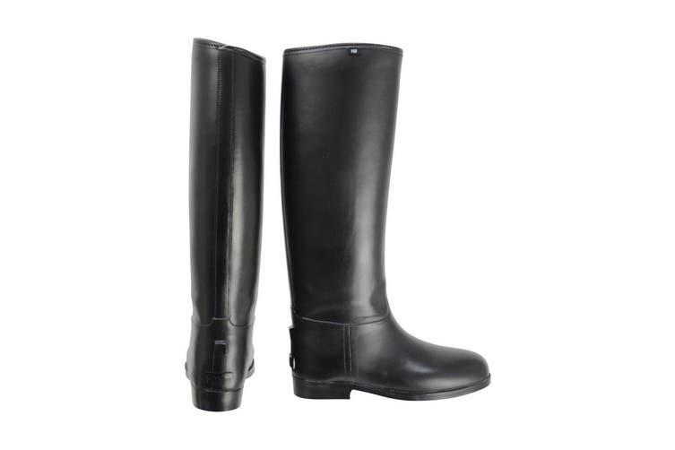 HyLAND Adults Long Greenland Waterproof Riding Boots (Black) (3 UK Standard)