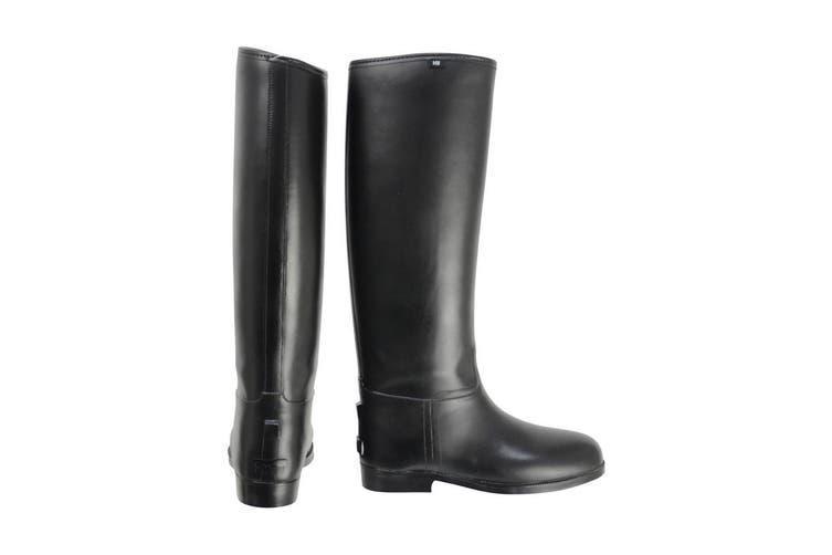 HyLAND Adults Long Greenland Waterproof Riding Boots (Black) (4 UK Standard)