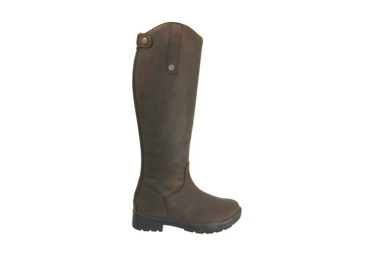 HyLAND Adults Waterford Winter Country Riding Boots (Dark Brown) (7 UK)