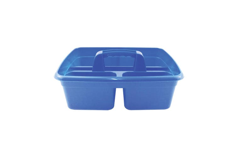 Perry Equestrian 3 Compartment Tack Room Tidy Tray (Blue) (One Size)