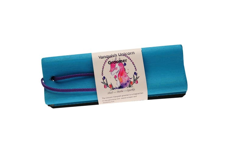 Vanquish Unicorn Groomer (Blue) (One Size)