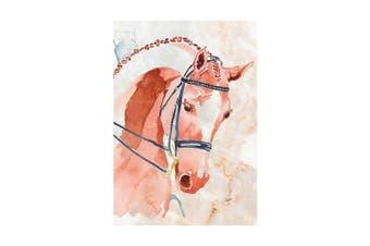 Deckled Edge A4 Watercolour Art Print (Competition Chestnut) (21 x 29.7cm)