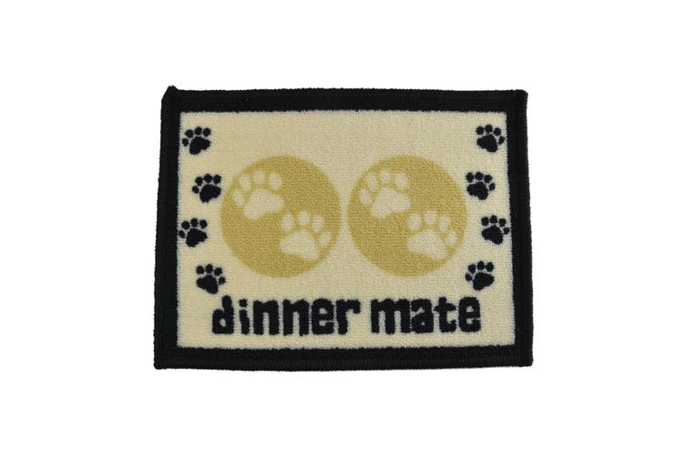 Pet Rebellion Dinner Mate Food Mat (Cream) (40 x 60cm)