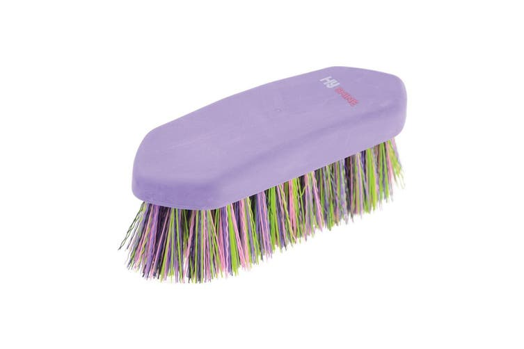 HySHINE Multi Colour Dandy Brush (Purple/Multi Colour) (One Size)