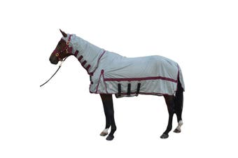 Hy Guardian Fly Rug And Fly Mask (Silver) - UTBZ1610