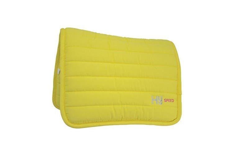 HySPEED Neon Reversible Comfort Pad (Bright Yellow) (One Size)