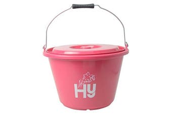 HySHINE Bucket with Lid (Pink) (18 litre)