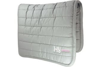 HySPEED Reversible Comfort Pad (Grey) (One Size)