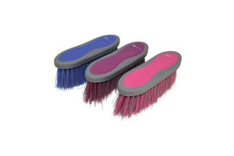 HySHINE Active Groom Long Bristle Dandy Brush (Regal Blue) (One Size)