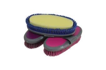 HySHINE Active Groom Sponge Brush (Bubblegum Pink) (One Size)