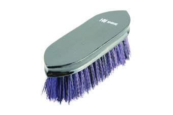 HySHINE Wooden Dandy Brush (Black/Purple) (One Size)