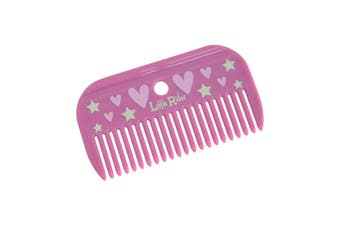 Little Rider Childrens/Kids Mane Comb (Cameo Pink) (One Size)
